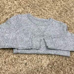 Old Navy long sleeve waffle knit tee, size 4T🥰